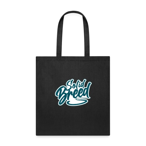 Solid Breed Contemporary Teal Logo - Tote Bag