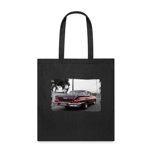 wine red car - Tote Bag