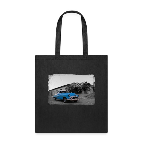 light blue car - Tote Bag