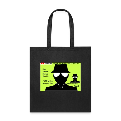 Mib 2 Men with Back Crew Logo - Tote Bag