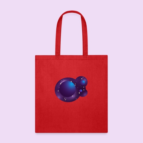 Sweet Blue Galaxy - Tote Bag