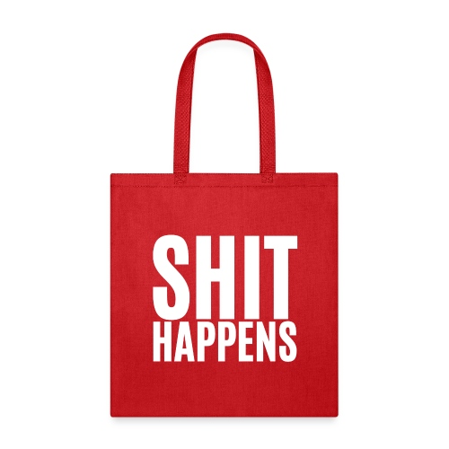 Shit Happens Axl Rose t-shirt - Tote Bag