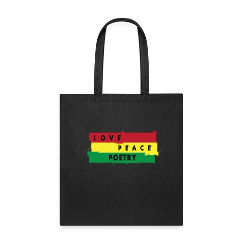 love peace poetry - Tote Bag