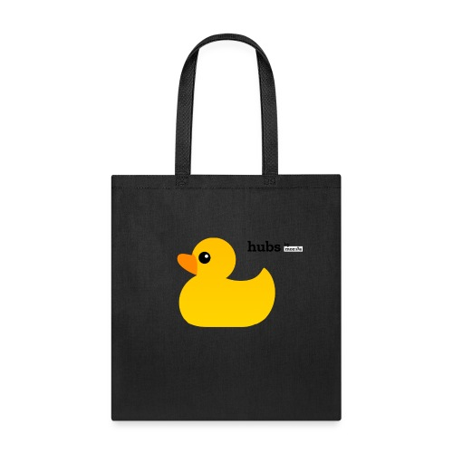 Hubs by Mozilla Duck with wordmark - Tote Bag