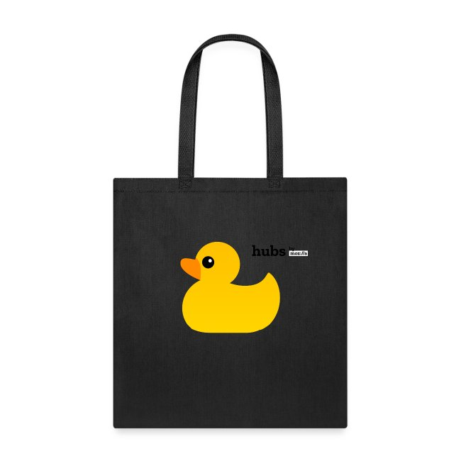 Hubs by Mozilla Duck with wordmark