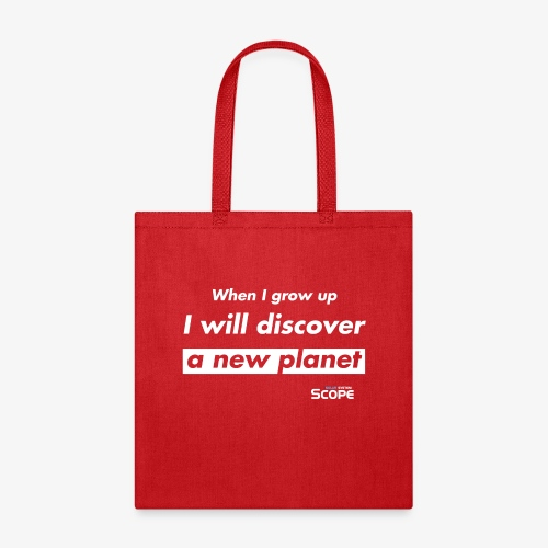 Solar System Scope : I will discover a new Planet - Tote Bag