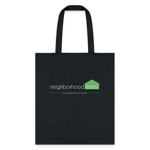 Neighborhood Loans Black Products - Tote Bag