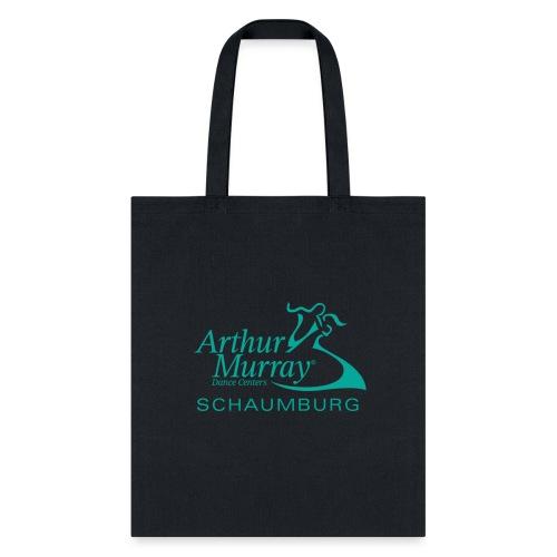 Arthur Murray Schaumburg Turquoise Logo - Tote Bag
