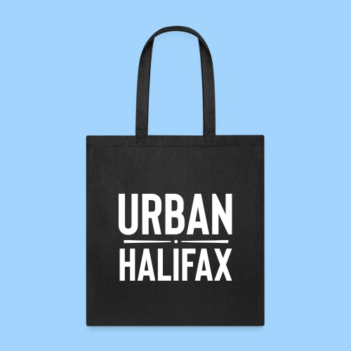 Urban Halifax logo (White) - Tote Bag