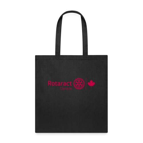 Rotaract Canada Cranberry Double Masterbrand - Tote Bag