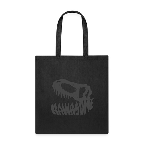 RAWRsome T Rex Skull by Beanie Draws - Tote Bag