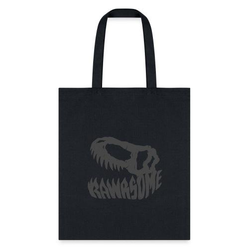 RAWRsome T Rex Skull by Beanie Draws - Tote Bag