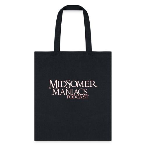 Midsomer Maniacs Podcast - Light Logo - Tote Bag