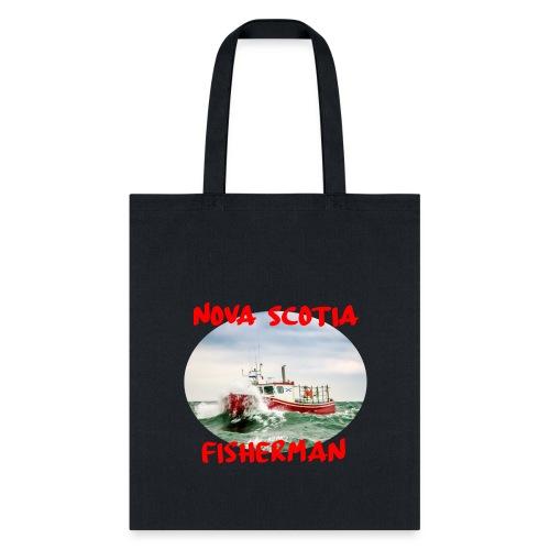 Nova Scotia Fisherman Red - Tote Bag