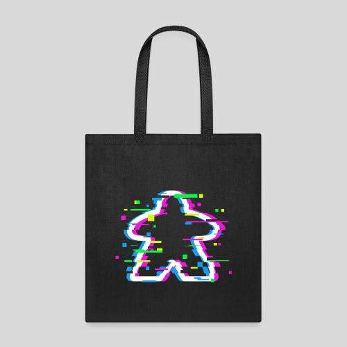 Glitched Meeple - Tote Bag