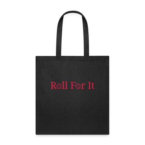 Roll For It Logo - Tote Bag