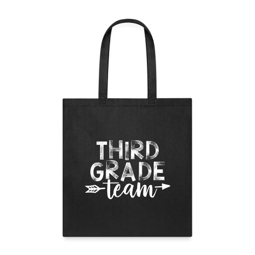Third Grade Team Arrow Teacher T-Shirts - Tote Bag