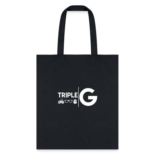 Triple G Full Logo - White Logo
