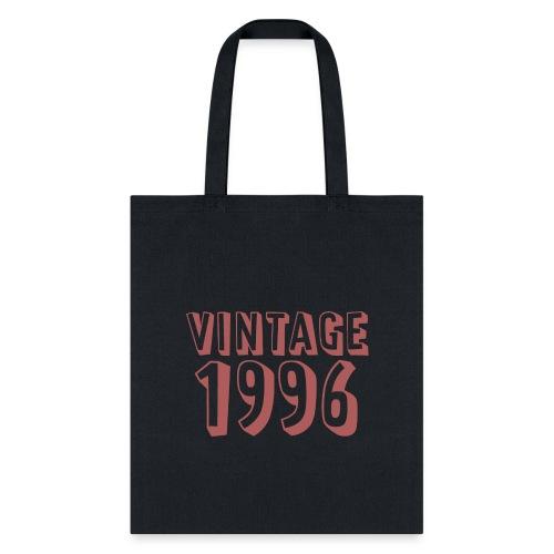 Vintage 1996 (dusty rose) - Tote Bag