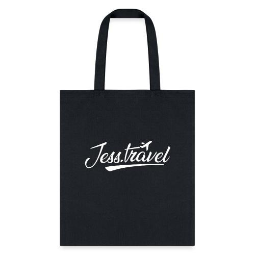 Jess Travel Logo White - Tote Bag