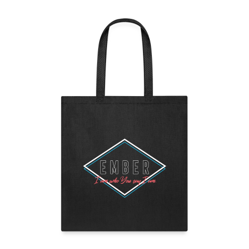 EMBER- Who You Say I Am (Coral) - Tote Bag