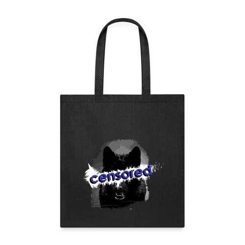 Wolf censored - Tote Bag
