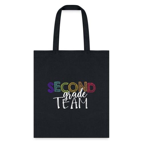 Second Grade Team Grade Level Team Teacher T-Shirt - Tote Bag