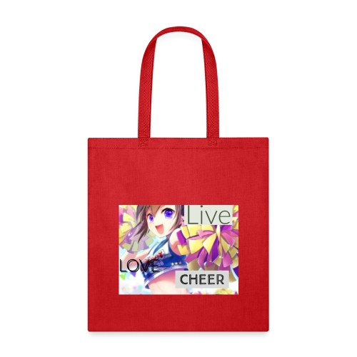 live love cheer - Tote Bag