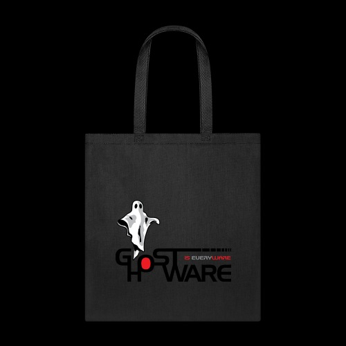 Ghostware Wide Logo - Tote Bag