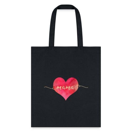 MAMA Heart | Gold Foil & Watercolour - Tote Bag