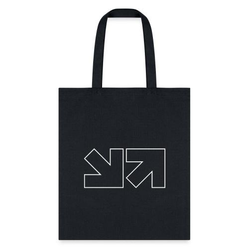 MinnMax Logo White Outline - Tote Bag