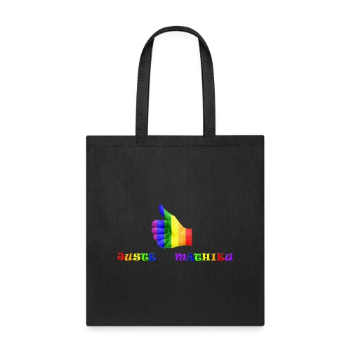 Logo LGBT + Name of the company - Tote Bag