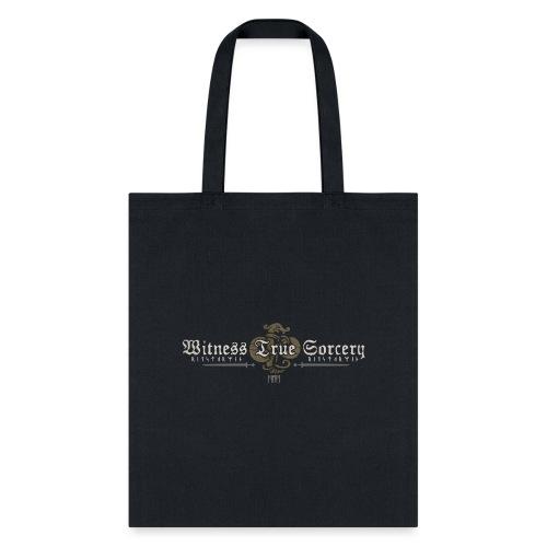 Witness True Sorcery Logo - Tote Bag