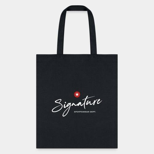 signature sportswear design t shirt - Tote Bag