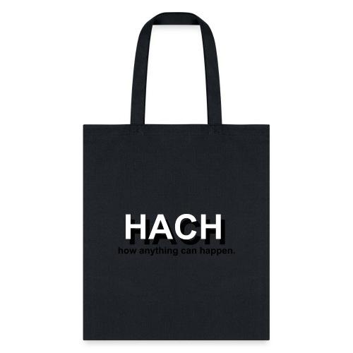 HACH Design Logo - Tote Bag