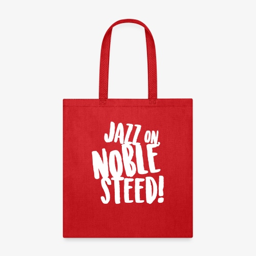 MSS Jazz on Noble Steed - Tote Bag
