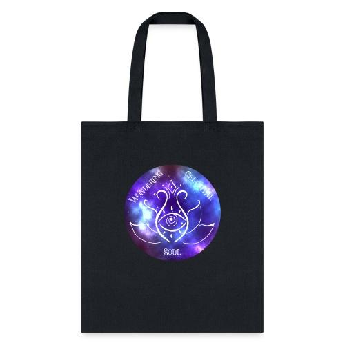 Colourful Wondering Celestial Soul Logo - Tote Bag