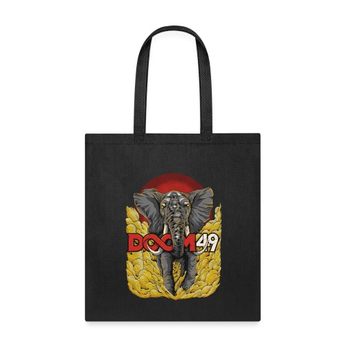 Yellow Smoke Elephant by DooM49 - Tote Bag