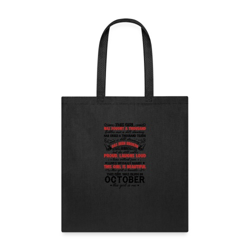 This Girl Has Fought A Thousand Battles This Girl - Tote Bag