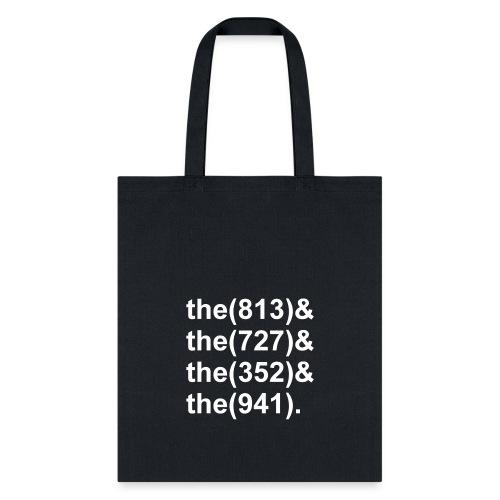 TB Area Codes - Tote Bag