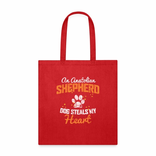AN ANATOLIAN SHEPHERD DOG STEALS MY HEART - Tote Bag