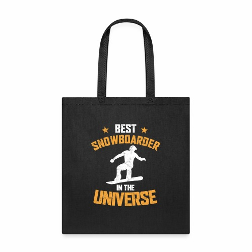 BEST SNOWBOARDER IN THE UNIVERSE - Tote Bag