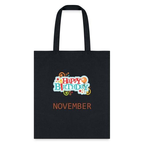 november birthday - Tote Bag