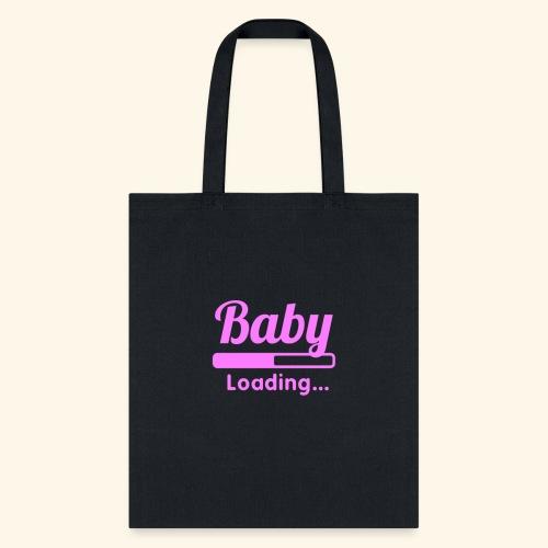 Pink Baby Loading - Tote Bag