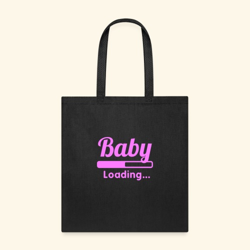 Pink Baby Loading - Tote Bag