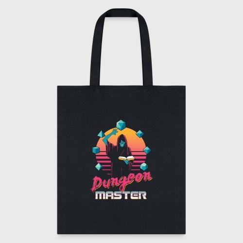 dungeon master outrun neon fantasy gift shirt - Tote Bag