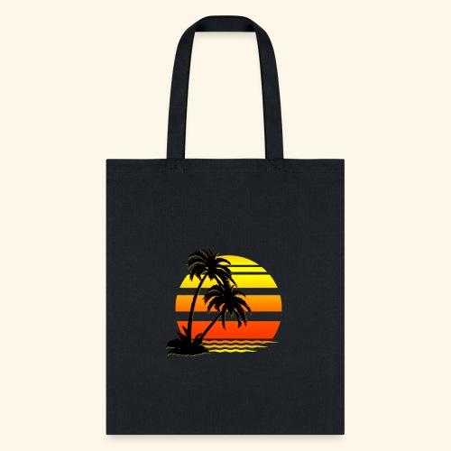 Summer Surfer California Sunset - Tote Bag