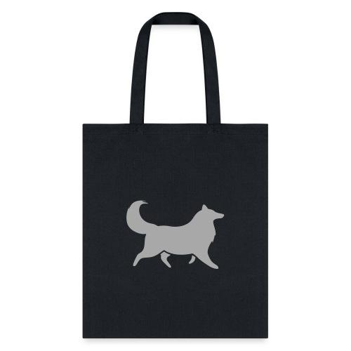 Collie silhouette small - Tote Bag