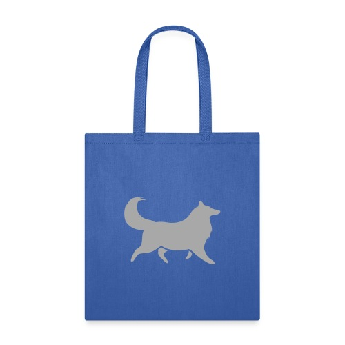 Collie silhouette small - Tote Bag