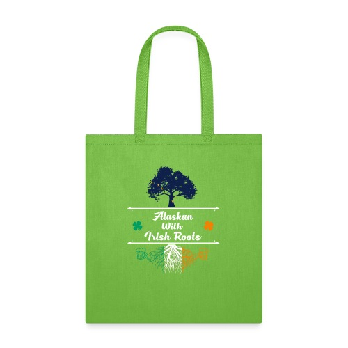ALASKAN WITH IRISH ROOTS - Tote Bag